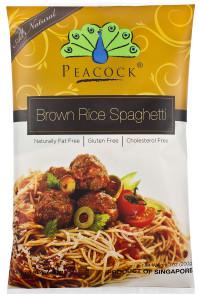 Peacock Brown Rice Spaghetti 200g